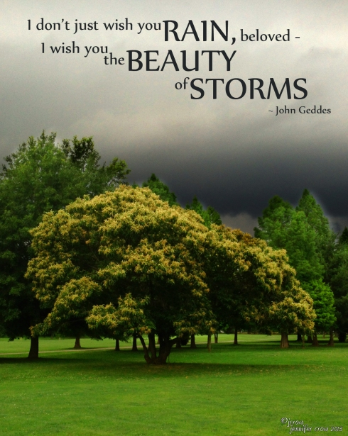 Beauty of storms